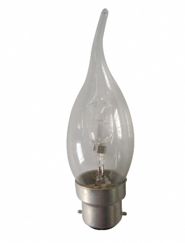 Halogen Decorative Candle Lamp in Clear CLA Lighting