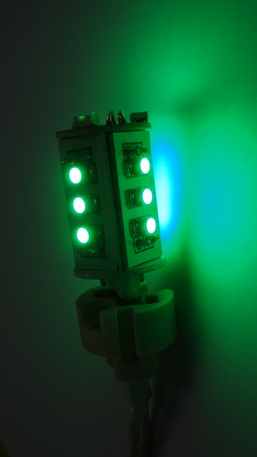 LED Wall Sconce in Green CLA Lighting