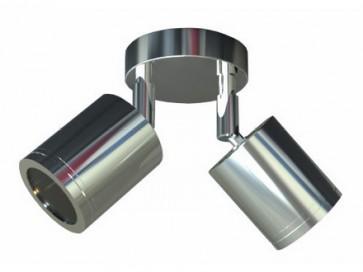 MR16 Double Adjustable Wall Pillar Light CLA Lighting