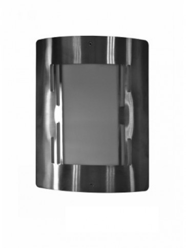 Outdoor Plain Wall Mask in Stainless Steel CLA Lighting