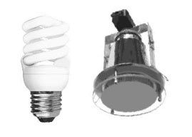 Round Downlight Kit Fitting T2 Base Large with Drop Glass CLA Lighting