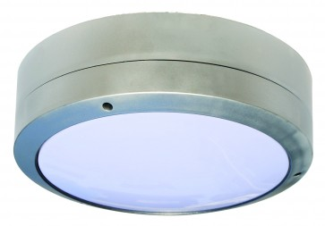 Round Wall Bunker in Silver CLA Lighting