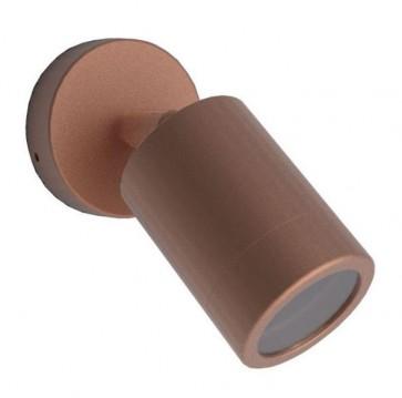 Single / Adjustable Body Copper Wall Pillar Light CLA Lighting