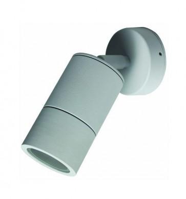 Single / Adjustable Long Body Wall Pillar Light in White CLA Lighting