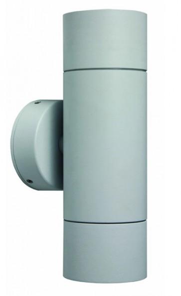Up / Down Long Body White Wall Pillar Light CLA Lighting