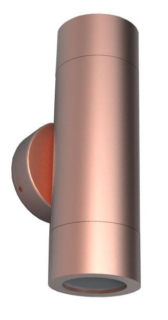 Up / Down Long Body Wall Pillar Light in Copper CLA Lighting