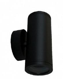 Up / Down Short Body Wall Pillar Light in Black CLA Lighting