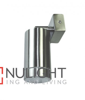 WALL GU10 PILLAR Surface Mounted CFL/LED Single Adjustable SS304 (fitting only) CLA
