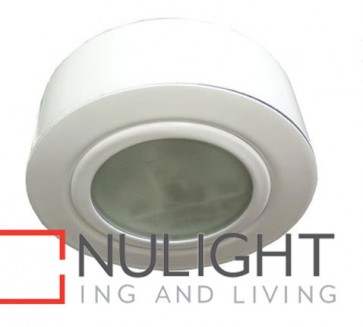 Downlight G4 12V FIXED CABINET UNDERBENCH White Round 65mm or Surface Mounted CLA