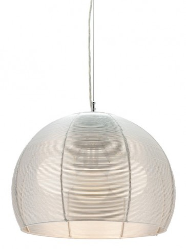 Arden 3 Light Pendant in Silver Cougar