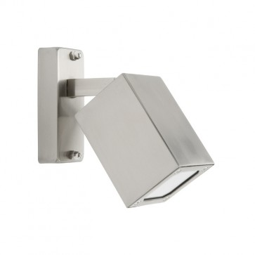 Boston Outdoor Adjustable Wall Light in 316 Stainless Steel Cougar