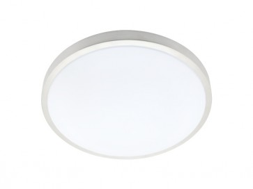 Capri Large 40W T5 Fluoro Ceiling Oyster Cougar