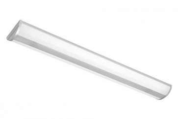 Corsair 2 x 28W T5 Fluoro Large Strip Light in Silver Cougar