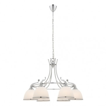 Dalton 6 Light Chrome Ceiling Pendant Cougar
