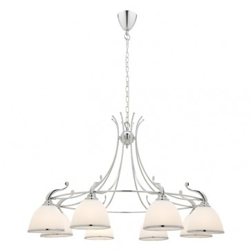 Dalton 8 Light Chrome Ceiling Pendant Cougar