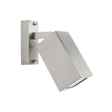 Denmark 1 Light Adjustable Exterior Wall Light in 316 Stainless Steel Cougar