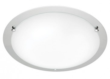 Detroit Large 44cm T5 40W Fluoro Ceiling Oyster Cougar
