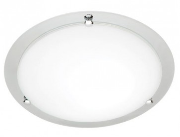 Detroit Small 33cm T5 22W Fluoro Ceiling Oyster Cougar