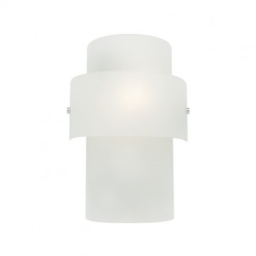 Dorset 1 Light Frosted Glass Wall Sconce Cougar