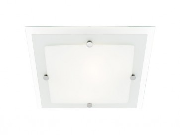 Essex 3 Light 43cm Square Ceiling Oyster Cougar