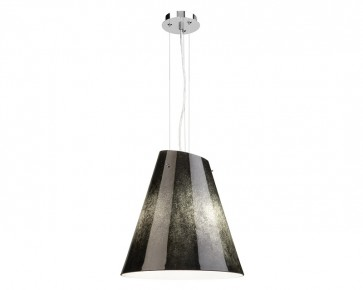 Fantasia 3 Light Ceiling Pendant in Black Wash Cougar