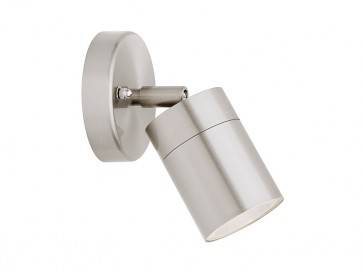 Helsinki 1 Light Adjustable Exterior Wall Light in 304 Stainless Steel Cougar