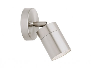 Helsinki 1 Light Adjustable Exterior Wall Light in 316 Stainless Steel Cougar