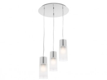 Infinity 3 Light Drop Cord Ceiling Pendant Cougar