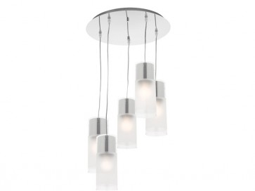 Infinity 5 Light Drop Cord Ceiling Pendant Cougar