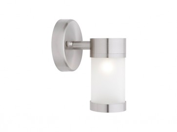 Liberty 1 Light Outdoor Wall Light in 304 Stainless Steel Cougar