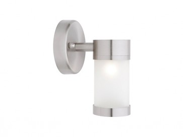 Liberty 1 Light Outdoor Wall Light in 316 Stainless Steel Cougar