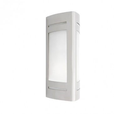 Linear 1 Light Outdoor Wall Light in 304 Stainless Steel Cougar