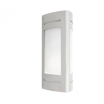 Linear 1 Light Outdoor Wall Light in 316 Stainless Steel Cougar