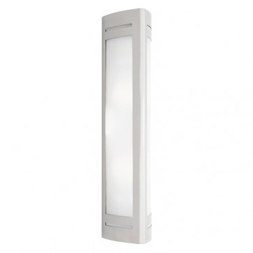 Linear 2 Light Outdoor Wall Light in 304 Stainless Steel Cougar
