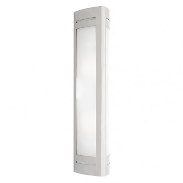 Linear 2 Light Outdoor Wall Light in 316 Stainless Steel Cougar