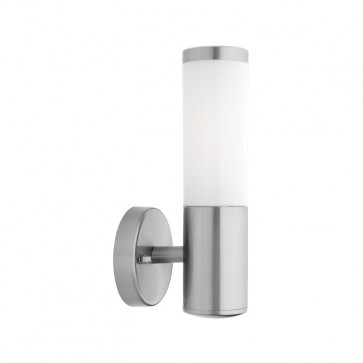 Mirage Outdoor Wall Light in 316 Stainless Steel Cougar