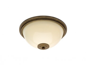 Montague Small Oyster Ceiling Light Cougar