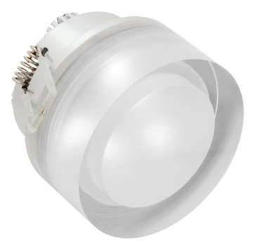 Orbit Downlight in Silver Cougar