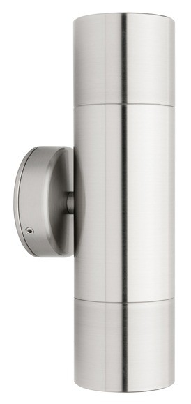 Panama 2 Light Wall Light in 316 Stainless Steel Cougar