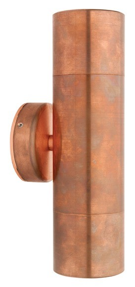 Panama 2 Light Wall Light in Copper Cougar