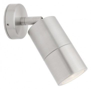 Panama Adjustable Wall Light in 316 Stainless Steel Cougar