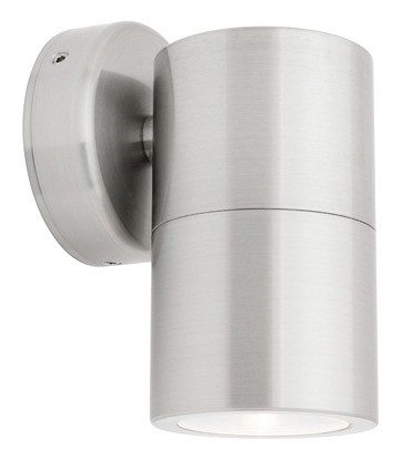 Panama Fixed Wall Light in 316 Stainless Steel Cougar