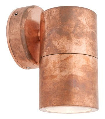 Panama Fixed Wall Light in Copper Cougar