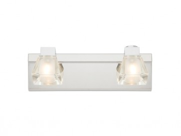 Sienna 2 Light Bathroom Vanity Light Cougar