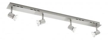 Titan Quad Head Rail Ceiling Spotlight Cougar