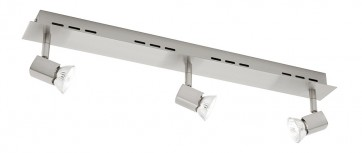 Titan Triple Head Rail Ceiling Spotlight Cougar