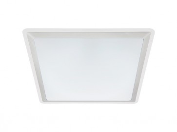 Viper 43cm T5 40W Fluoro Square Ceiling Oyster Cougar