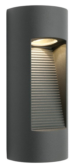 Zurich Outdoor Wall Lantern in Charcoal Cougar