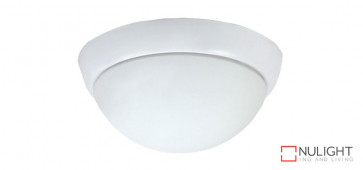 Oyster Light for Harmony Ceiling Fan - 2 x E27 Lamp Holder - White VTA