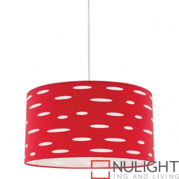 Darcy 1 Light Red Pendant COU